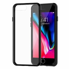 for iPhone 8 Case iPhone 7 Cover JETech Shock Absorption AntiScratch Clear Black