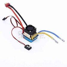 320A Brush Speed Controller ESC with Fan 5V/3A BEC T-Plug For 1/8 1/10 RC Car US