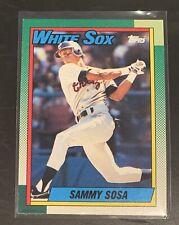 1990 Topps Sammy Sosa RC Rookie Card #692 Chicago White Sox PWE