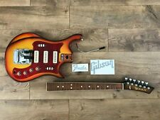 Ussr Soviet Relic Electric Guitar Strat Style & Fender and Gibson sticker / xfer