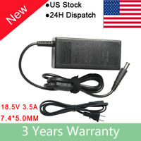 65W AC Adapter Power Charger For 463958-001 HP G62 G60 Pavilion DV4 DV5 DV6 DV7
