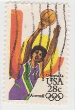 (UST-508) 1983 USA 28c BASKET BALL AIR MAIL (BN)