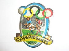 1956 OLYMPIC GAMES MELBOURNE AUSTRALIA Olympics Sport Pin Hockey VERY RARE/NICE!