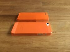 Apple iPhone 5 5S SE Ultra Slim matte Handyhülle 0,2mm Smartphone 1 Cover orange