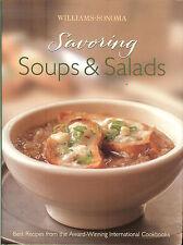 Williams-Sonoma SAVORING SOUPS & SALADS: Best Recipes International Cookbooks