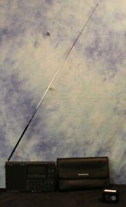RadioShack DX-398 All Band Shortwave Receiver w.Radio Data System +Case & Manual