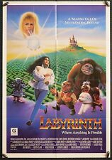 Labyrinth - original 1sh poster