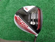 TaylorMade Tour Issue + TP Aero Burner Driver 9 Ozik Black Tie Extra Stiff Shaft