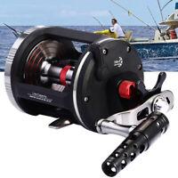 Trolling Reel Saltwater 14+1BB Star Drag Fishing Round Baitcasting Reel TA3000