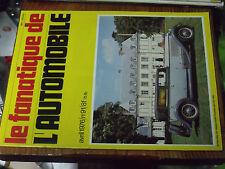 10µµ Revue Fanatique Automobile n°91 Kiddy cyclecar Delahaye 135 Ford-Montier