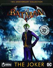 DC Batman Arkham Asylum 10th Anniversary Figure #2 Joker (Eaglemoss) - New!