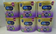 *6x Enfamil NeuroPro Gentlease Infant Formula Reusable Powder Tub, 20 oz Milk*