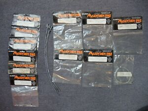 CANTILEVER STRADDLE CABLES + LINK WIRES x18 - CYCLE PARTS JOB LOT NEW OLD STOCK