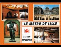 LILLE (59) METRO Station REPUBLIQUE en 1988