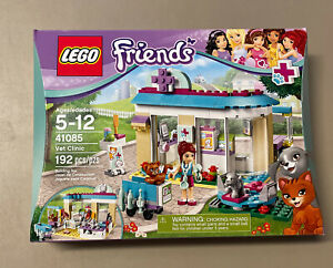 Rare New LEGO Friends Vet Clinic 41085 Factory Sealed, 2015 Retired 192 Pieces