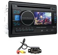 "Power Acoustik PD-342 3.4"" 2Din Car Monitor DVD/CD/USB/SD Player Receiver+Camera"