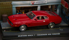 JAMES BOND CAR COLLECTION  - FORD MUSTANG MACH 1 - DIAMONDS ARE FOREVER - No 013
