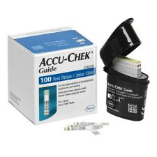 Accu-Chek Guide 100 Test Strips Blood Glucose Testing Diabetes Accuchek