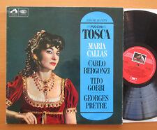 ASD 2300 Maria Callas Tosca Highlights Georges Pretre NM/EX Colour Stamp Label
