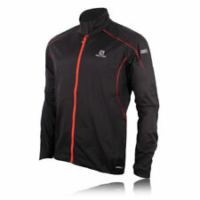 Abbiglimento sportivo da uomo giacche e gilet leggero nero