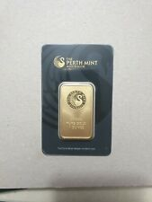 Lingotto 1 Oncia (31,1g). The Perth Mint Australia Gold Bar 99.99
