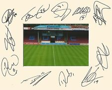 A 10 x 8 inch mount personally signed by 11 Scunthorpe players on 13.08.2016 (3)