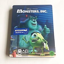 Disney Monsters, INC. Blu-ray (3D+2D) Steelbook [Korea] KimchiDVD Exclusive! NEW
