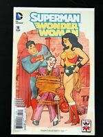 SUPERMAN / WONDER WOMAN #18 DC COMICS 2015 NM+ MAHNKE JOKER VARIANT