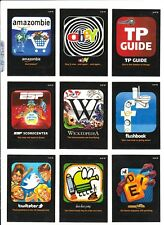 Wacky Packages ANS9 *AWFUL APPS or LAME GAMES* Cards ( PICK 1 ) Singles! $1 EACH