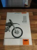 KTM SX 125'150'250 2014 Genuine English Comprehensive Owners Manual