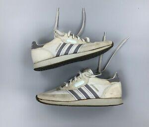 Rare Vintage ADIDAS Louisiana 1986 Trainers Sneakers Gray Size UK 6