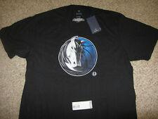 NWT NEW Dallas Mavericks Black NBA Basketball T-Shirt XL Cotton Fanatics Tags