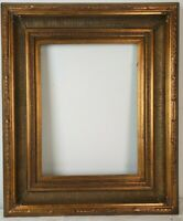 Fits 12x16 Traditional Gold Wood Frame Antique Style Decoration Frame