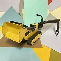 Rare Large Vintage Collectable Tonka T6 Crawler Tracked Digger Loader Excavator