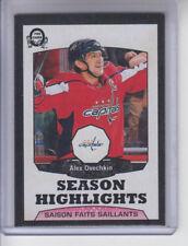 18/19 OPC Washington Capitals Alex Ovechkin SH Black card #551 Ltd #/100