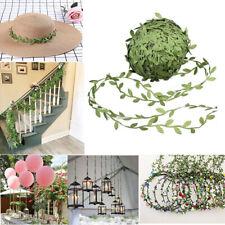 229ft Faux Vines Artificial Leaf Garlands Fake Diy Flower Foliage Wedding Decor
