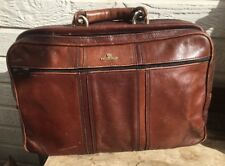 Madler Leather Travel Bag Luggage Vintage Brown