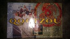 QUETZAL SIGNED PROMOTIONAL 11X17 ALBUM POSTER