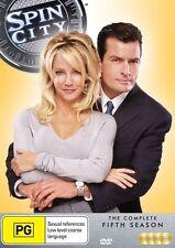 Spin City : Season 5 (DVD, 2014, 4-Disc Set)