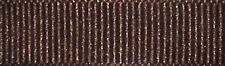 40mm Berisfords Chocolate Brown Grosgrain Ribbon 20m Reel