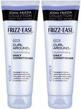 2 x JOHN FRIEDA FRIZZ EASE CURL AROUND HAIR CONDITIONER  250 ml. Each