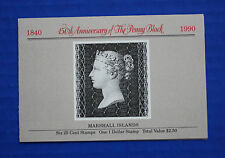 Marshall Islands (#376a) 1990 The Penny Black 150th Anniversary MNH booklet