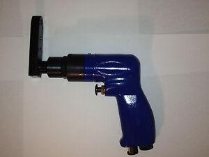 Pancake Air Drill 360 Degree Flat Head 1/4 x 28 Threaded Drill Motor NEW