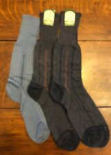 Vintage 40s Thin Cotton/Rayon Dress Socks Size 12 Pilgram Tag NWT 3 Pair