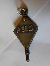 A.S.L.C. American Student Loan Center Pendant Sterling Silver 1949