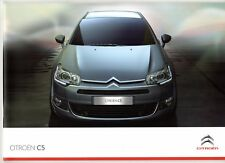 Citroen C5 2010-11 UK Market Sales Brochure Saloon Tourer VTR VTR+ Exclusive