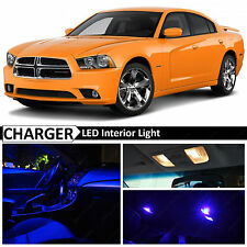 18x Blue Interior LED Lights Package Kit for 2011-2014 Dodge Charger