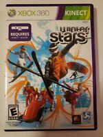 Winter Stars Microsoft Xbox 360 GAME COMPLETE w/MANUAL OLYMPIC SPORTS SKI SKATE