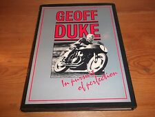 book. MOTO RACING Geoff duke. In Pursuit of Perfection 1ST 1988 HB OSPREY