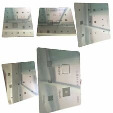9 in 1 IC Repair BGA Rework Reballing Stencil Template Repair Tool For Samsung